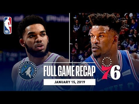 Video: Full Game Recap: Timberwolves vs 76ers | Sixers Knock Down Franchise Record 21 Threes