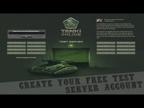 tanki online free accounts - Test Server Link - http://test.tankionline.com/ I've disabled the comments because people were asking too many questions on how to get on. It's really simple...