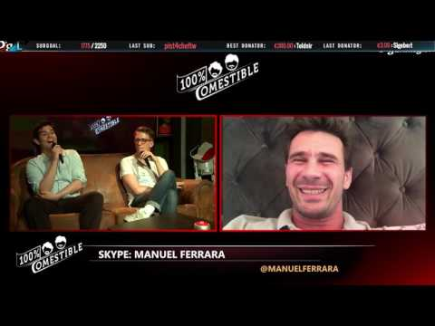Interview de Manuel Ferrara et Shaunz - 100% Comestible (видео)