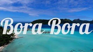 Bora Bora, French Polynesia, Aerial Drone Video, DJI, GOPRO HERO4.