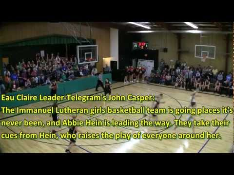 Abbie Hein Basketball Highlights (2011-12 Junior Season)