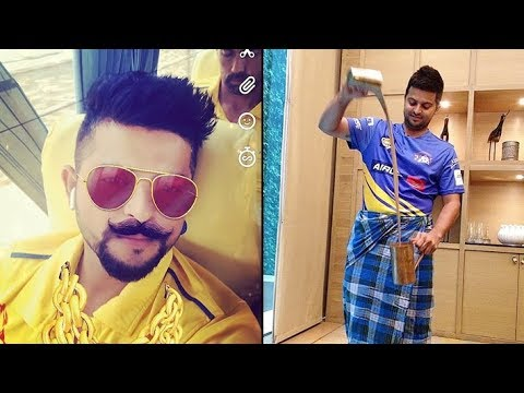 Suresh Raina Funny Moments 2018 - Cricket