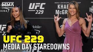 Video UFC 229 Media Day Staredowns – MMA Fighting MP3, 3GP, MP4, WEBM, AVI, FLV Juni 2019