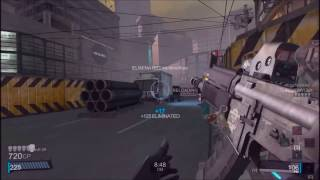 Blacklight Retribution (PC): DM Piledriver [20-0] (M4X Rifle)