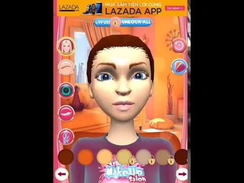 Game bé tập trang điểm- Makeup Salon