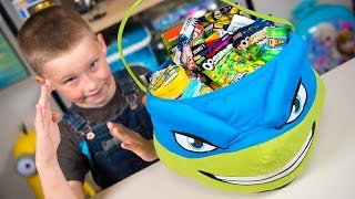 HUGE Teenage Mutant Ninja Turtles Surprise Bucket TMNT Super Heroes Toys for Boys Kinder Playtime  Today on Kinder Playtime we are opening a HUGE Teenage Mutant Ninja Turtles Leonardo Bucket filled with Surprise Toys for Boys!  We have Ninja Turtle Toys, we have Super Hero Ooshies, we have Ooze, Mashems, Surprise Eggs, and More!  We hope you enjoy our Ninja Turtle and Super Hero Toys opening today!Toys featured in this video today include:Mad Balls Series 1 Blind BagFungus Amungus Series 2 Surprise EggTeenage Mutant Ninja Turtles Ooshies Blind BagMr. Wacko's Ooze Surprise EggMighty Morphin Power Rangers Figural Keyring Blind BagDragon Ball Z Action Vinyls Blind BoxMyMoji Marvel Super Heroes Blind BagsTeenage Mutant Ninja Turtles Stackable Mystery FiguresFlipaZoo Series 1 Blind BagMarvel Super Heroes Ooshies Blind BagDC Comics Super Heroes Ooshies Blind BagTeenage Mutant Ninja Turtles Bop Ball LeonardoTeen Titans Go Mini Figure Blind BagDC Comics Super Heroes Surprise EggGuardians of the Galaxy Series 1 Mashems Surprise EggMarvel TSUM TSUM Series 1 Blind BagThe Batman LEGO Movie LEGO Minifigure Blind BagSpiderman Mashems Surprise EggThomas and Friends Mashems Surprise EggThomas and Friends Minis Surprise Blind BagPaw Patrol Super Heroes Mashems Surprise EggToy Story Minis Blind BagTeenage Mutant Ninja Turtles Mega Blox Figure Blind BagMore Kinder Playtime Surprise Toy Openings!HUGE LEGO Batman Surprise Present Super Hero Blind Bags Toys for Boys Kinder Playtimehttps://www.youtube.com/watch?v=X3cB4d14LywHUGE Spiderman Surprise Present for Kids Super Hero Toys for Boys Pokemon Minecraft Kinder Playtimehttps://www.youtube.com/watch?v=CjWaApSDUTkHUGE Paw Patrol Surprise Present from Santa Claus Christmas Toys for Boys Blind Bags Kinder Playtimehttps://www.youtube.com/watch?v=_B9yb42I2ioHUGE Teenage Mutant Ninja Turtles Advent Calendar Surprise Toys TMNT Christmas Toys Kinder Playtimehttps://www.youtube.com/watch?v=gKSBN5eslRwHUGE Tonka Truck Surprise Toys Bucket Toy Truck Surprise Egg Trucks Toys for Boys Kinder Playtimehttps://www.youtube.com/watch?v=ODWi1pX6n_UHUGE Minions Surprise Egg Despicable Me Kevin Surprise Toys Funny Toy for Kids Kinder Playtimehttps://www.youtube.com/watch?v=CEQakilk81YHUGE FINDING DORY SURPRISE POOL Toy Surprise Eggs Disney Toys Boy Toys Girl Toys Kinder Playtimehttps://www.youtube.com/watch?v=dJV9lkevzgoHUGE Popcorn Surprise Bucket Toys Finding Dory Frozen Elsa TMNT Ninja Turtles Kinder Playtimehttps://www.youtube.com/watch?v=ZTyAxUjLhd0Huge Mashems & Fashems Surprise Toy Finding Dory Ninja Turtles Batman Paw Patrol MLP Kinder Playtimehttps://www.youtube.com/watch?v=I3nj3BCvjxoHUGE Finding Dory Surprise Box & Toy Bag Elmo Toys Shopkins Blind Bags Disney Toys Kinder Playtimehttps://www.youtube.com/watch?v=W0g7IPl3nHoHUGE Avengers Captain America Surprise Toy Box Yo-Kai Watch Toy Cars Spiderman Toys Kinder Playtimehttps://www.youtube.com/watch?v=pdTtd85gFH0HUGE Star Wars Surprise Egg Darth Vader Surprises BB-8 Toy Mario Brothers Hot Wheels Kinder Playtimehttps://www.youtube.com/watch?v=yGfQ5yXntekHUGE Ninja Turtles Surprise Bucket TMNT & Kid Surprise Toys for Boys Cars Kids Toy Kinder Playtimehttps://www.youtube.com/watch?v=AaAj_50wotM