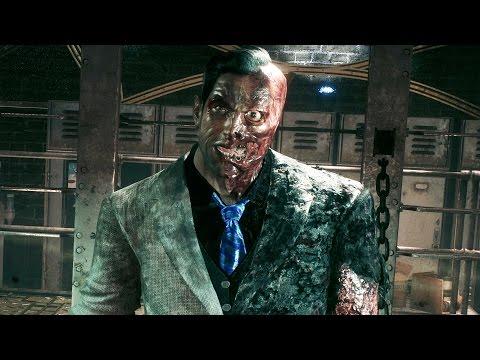 Batman Arkham Knight: Two Face Boss Fight (4K 60fps)