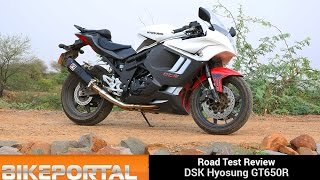 10. Hyosung GT650R Test Ride Review - Bikeportal