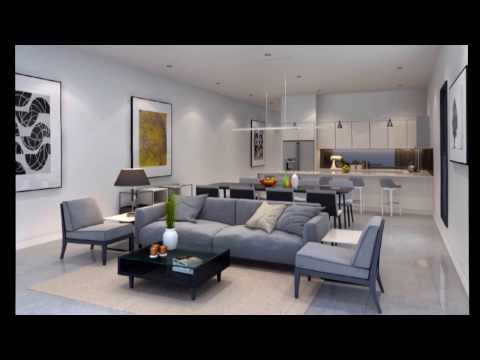 3D WALKTHROUGH ANIMATION LIVING-DINING 3D model - Freelance work
