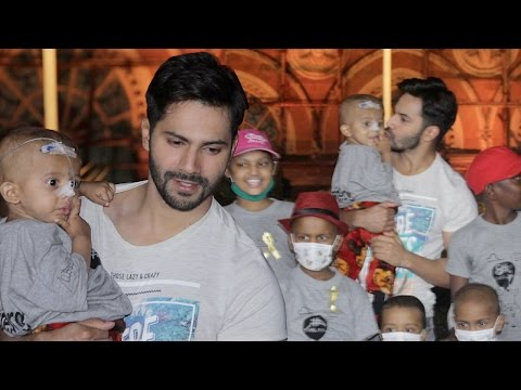 Varun Dhawan's Spends Time With Cancer Patient