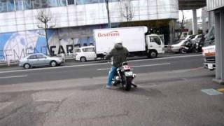 8. Moto Guzzi Nevada Classic 750 I.E. in japan Vol01.MOV