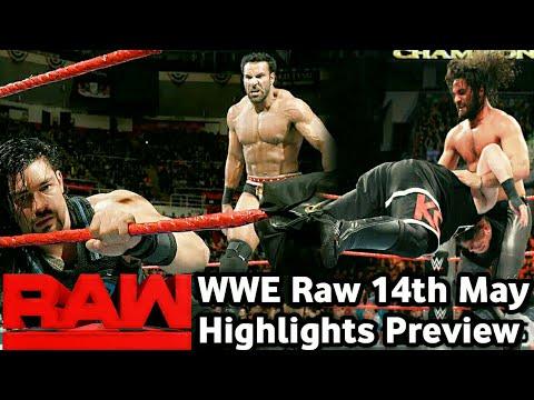 WWE Raw 14 May 2018 highlights ! Monday night Raw 5/14/18 Hindi Preview