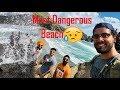 Most Dangerous Beach in Auckland😱😱    New Zealand   NZ Taran Sehmbi