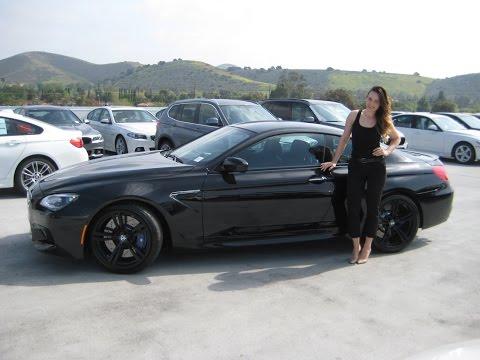 NEW BMW M6 20″ Black M Wheels Exhaust Sound Review