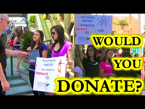 Atheist vs Christian Fundraiser