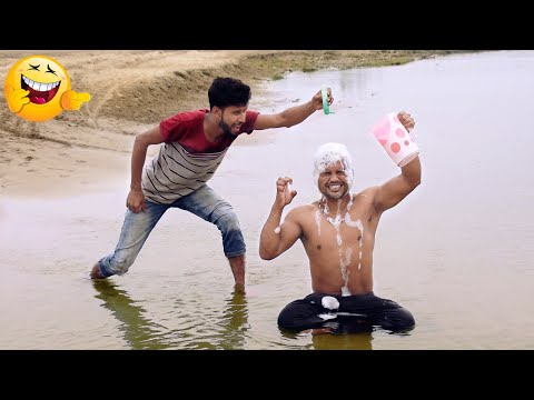 Must watch funny 😂😂 Comedy Video 2020 try to not lough By|| Bindas fun bd ||