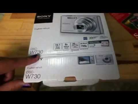 Video Unboxing my new camera! (SONY CYBERSHOT DSC-W730) download in MP3, 3GP, MP4, WEBM, AVI, FLV January 2017