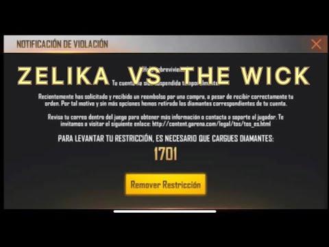 THE WICK EXPLICA SOBRE LOS REEMBOLSOS Y ZELIKA RETA A LA COMUNIDAD DE FREE FIRE