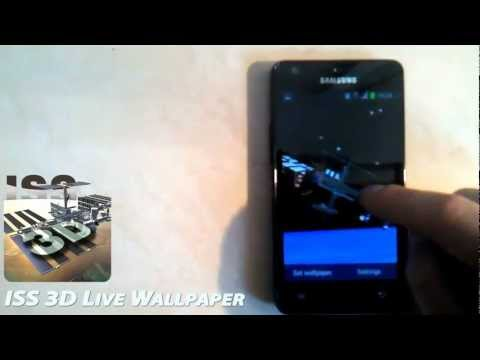 Video of ISS 3D Space Live Wallpaper