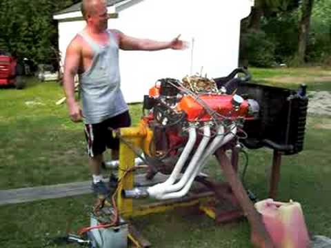 502 Big Block Chevy. Chevy Big Block Engine