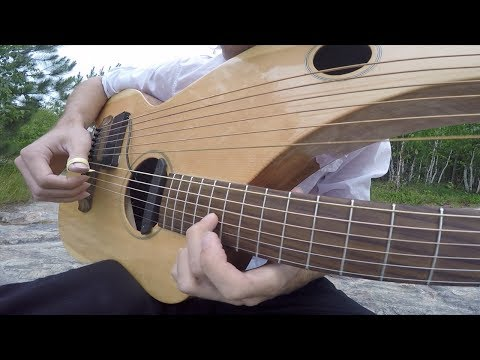 , title : 'Comfortably Numb - Pink Floyd - Instrumental Harp Guitar/Electric (end solo) - Jamie Dupuis'