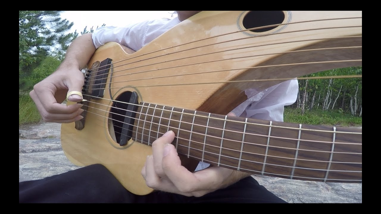 Comfortably Numb – Pink Floyd – Instrumental Harp Guitar/Electric (end solo) – Jamie Dupuis
