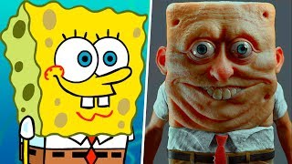 Nonton Spongebob in Real Life! Main Characters Film Subtitle Indonesia Streaming Movie Download
