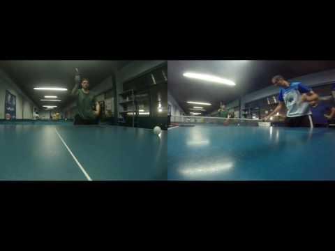 Treinamento de tênis de mesa - Volta Redonda