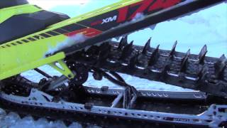 10. 2015 Ski-Doo Summit X 800 T3 174 and T3 163 - January SnoWest ride