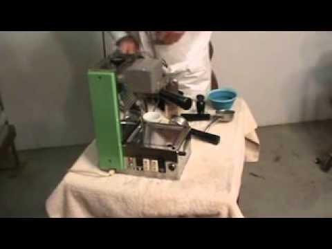 Vintage OMRE Quick Mill Espresso Machine–Home Lever Killer?