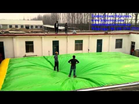 inflatable stunt air bag, jumping air bag, inflatable jumping air bag for stunt