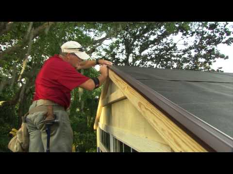 comment poser roofing