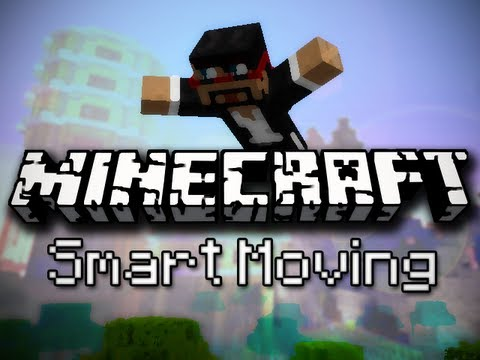 Minecraft: Climbing, Diving, Sliding and More! (Smart Moving Mod)