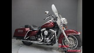 4. 2001  HARLEY DAVIDSON  FLHRI ROAD KING - National Powersports Distributors