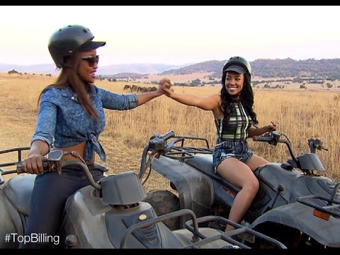 Amanda du Pont takes Top Billing quad biking