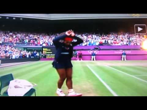 0 Critics Have A Seat: Serene Williams C Walk At The Olympics Is NOT That Serious!