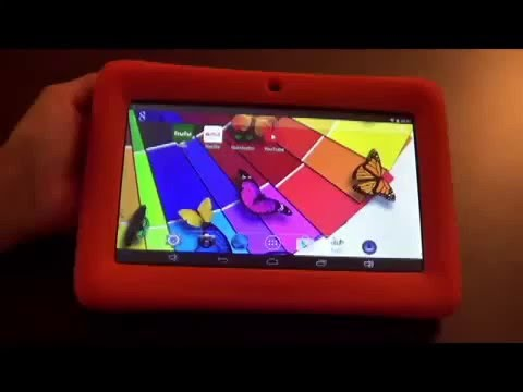 KingPad K77 kids tablet review