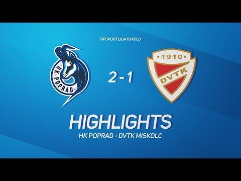 19. forduló: HK Poprad - DVTK Jegesmedvék 2-1