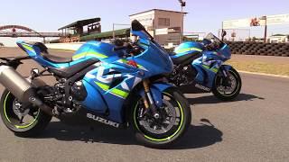 5. Suzuki GSX-R1000 vs. GSX-R1000R Track Test