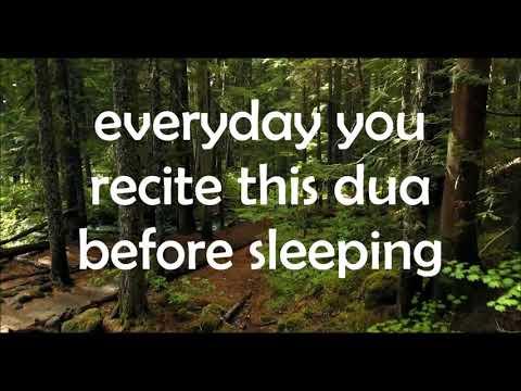 dua before sleeping//arabic with english translation