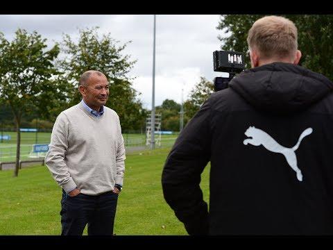 Video: Newcastle United | Eddie Jones visits Academy
