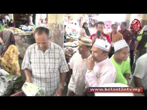 Calon PAS & MB Bersama Rakyat Di Pasar Kg. Geting