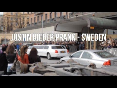 Ytterligare en prank där killar låtsas vara Justin Bieber