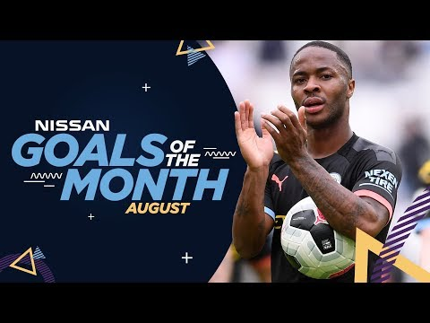 Video: AUGUST GOALS OF THE MONTH 19/20 | Sterling, Braaf, Aguero & De Bruyne