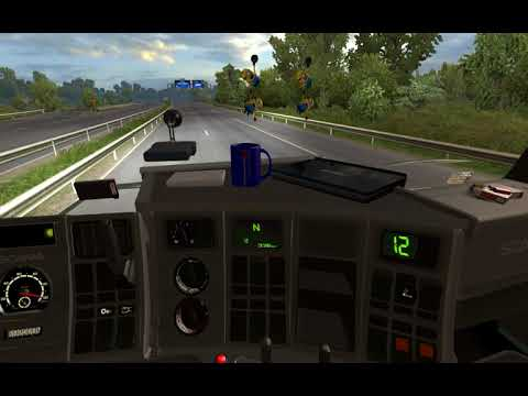 Scania 143m (by Ekualizer) Inside Computer