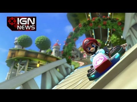 e3 news - Nintendo has officially announced Mario Kart 8 for Wii U. Subscribe to IGN's channel for reviews, news, and all things gaming: http://www.youtube.com/subscri...