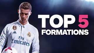 Video FIFA 18: 5 Strongest Formations - Best Way to Play MP3, 3GP, MP4, WEBM, AVI, FLV Agustus 2018