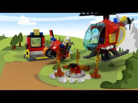 Vidéo LEGO Juniors 10685 : La valise Pompiers