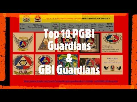 Top 10 PGBI Guardians & GBI Guardians Brotherhood