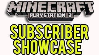 Minecraft Playstation - Subscriber World Showcase
